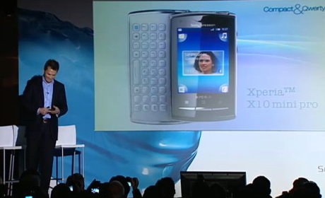 X10 Mini Pro. Xperia X10 Mini Pro